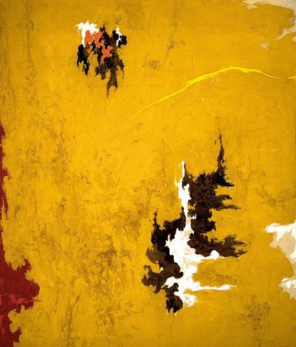 Clifford Still { Color Field Abstraction }