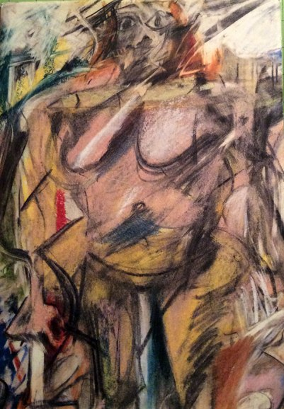 "De Kooning- Ab Ex ""Woman Studies"" Works On Paper"