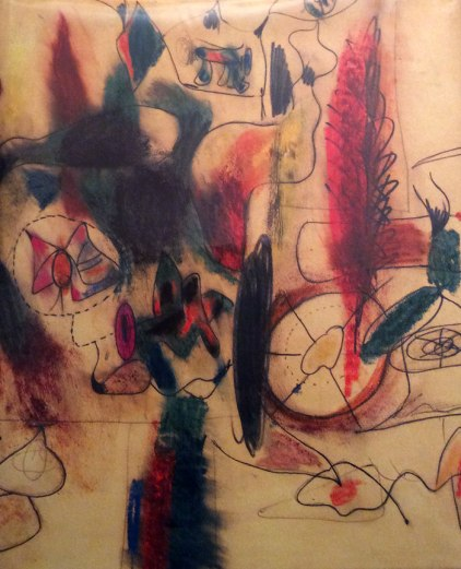 Gorky { Abstract Expressionist }