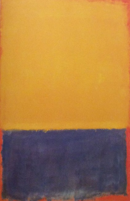 Rothko { Color Field Abstraction }