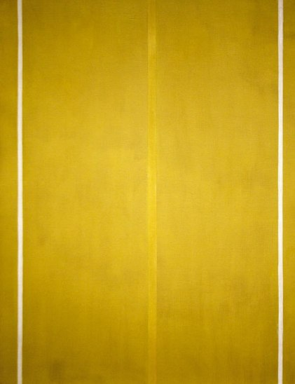Barnett Newman { Color Field Abstraction }