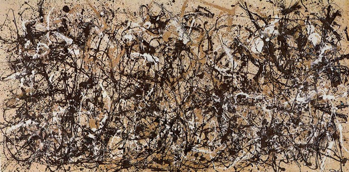 "Pollock Abstract Ex ""Drip Painting series"""