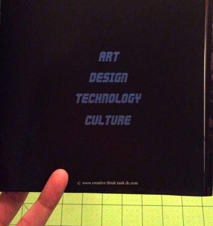 Artist Book: CTTDC Is a digital incubator focusing on Art, Design , Tech & Culture | Digital C Prints on canvas paper