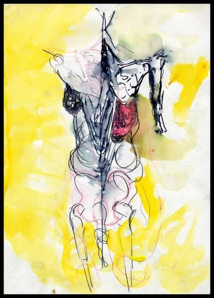 Works On Paper Drawings | DSC-1998-2002, Watercolor