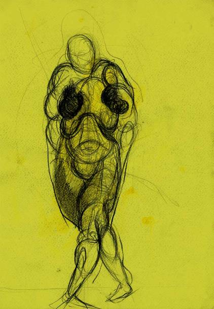 Works On Paper Drawings | DSC-1998-2002,Graphite on toned vellum