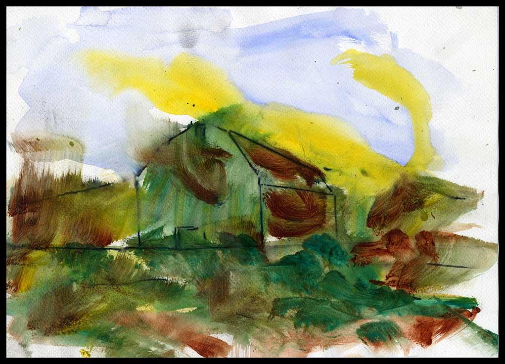 Works On Paper Drawings | DSC-1998-2002, Watercolor,