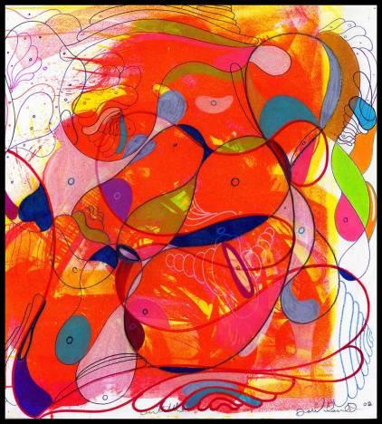 Works On Paper Drawings | DSC-1998-2002, Silk Screen Litho Print