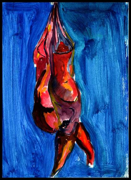 Works On Paper Drawings | DSC-1998-2002,Water Color