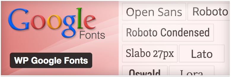 Google Web Fonts WP Plug-In