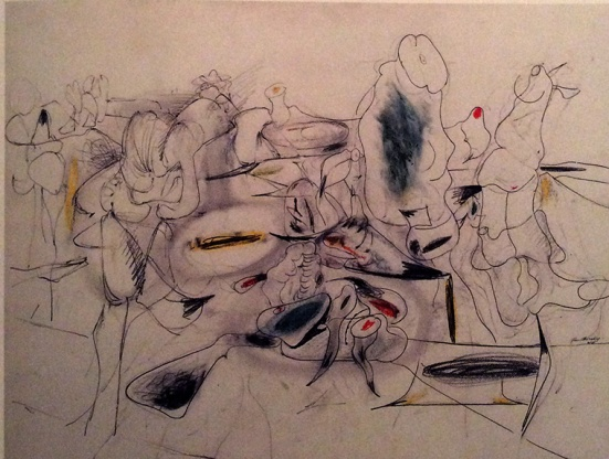 Arshile Gorky-Absstract Forms on Paper